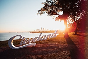 """cf0a09818222 """"The new City Edition uniform tells the story about The Land that we love –  Cleveland"""