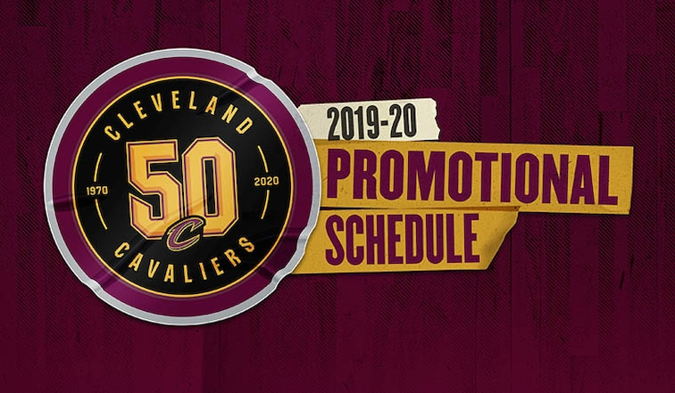 2019-20 Promotion Schedule