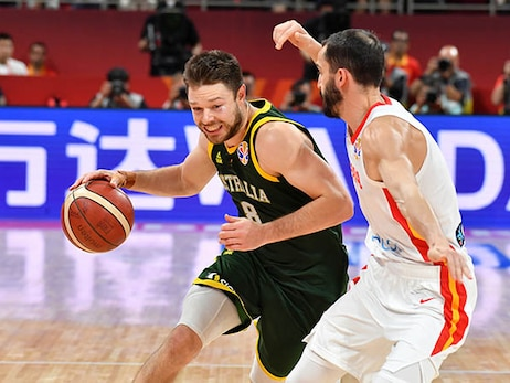 Aussies Fall in Double-OT to Spain in Semis