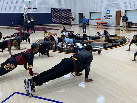 Third Graders Motivated to Become Fit