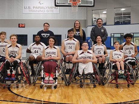 Jr. Wheelchair Cavs Update