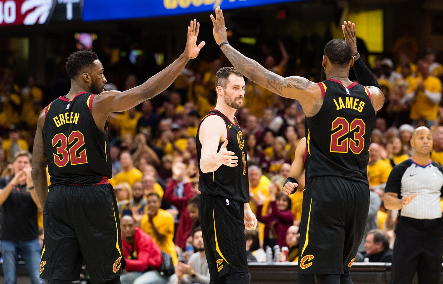 Cleveland Cavaliers: Breaking Down The 'W' - May 7, 2018