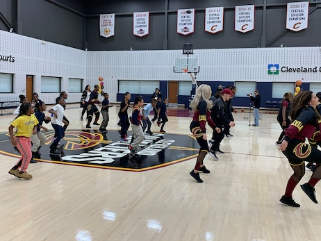 Third Graders Learn How to Get Fit as a Pro
