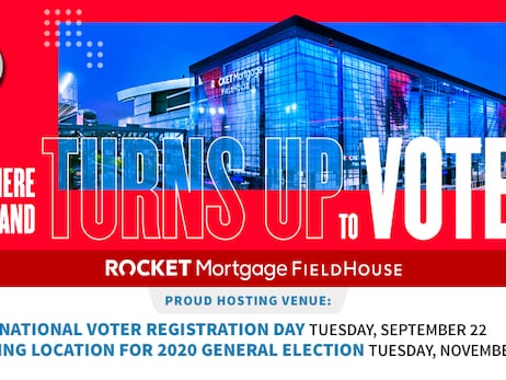 Rocket Mortgage FieldHouse to Serve as Polling Location for 2020 General Election on Tuesday, November 3rd