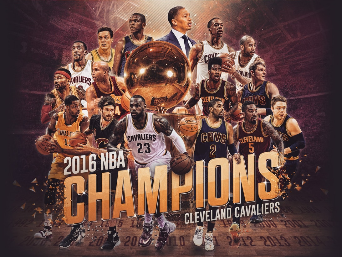 History Made | Cleveland Cavaliers 2016 NBA Champions | Cleveland Cavaliers