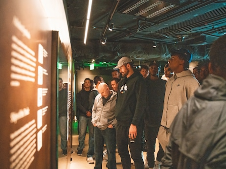 Cavs Visit National Museum of African American History and Culture in D.C.