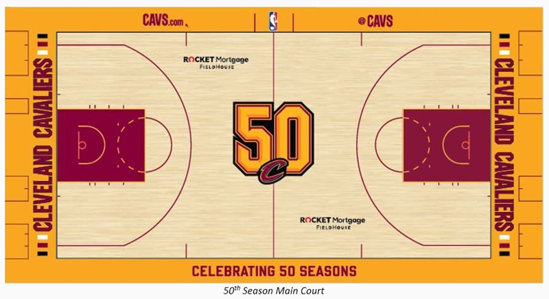 50th Season Court