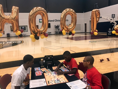 Cavs Host NBA Math Hoops Tourney Ahead of Tuesday's Game