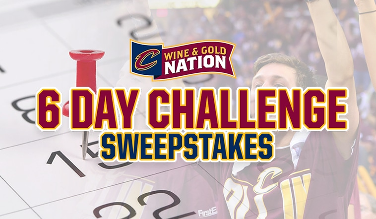 Wine & Gold Nation 6 Day Playoff Challenge Sweepstakes