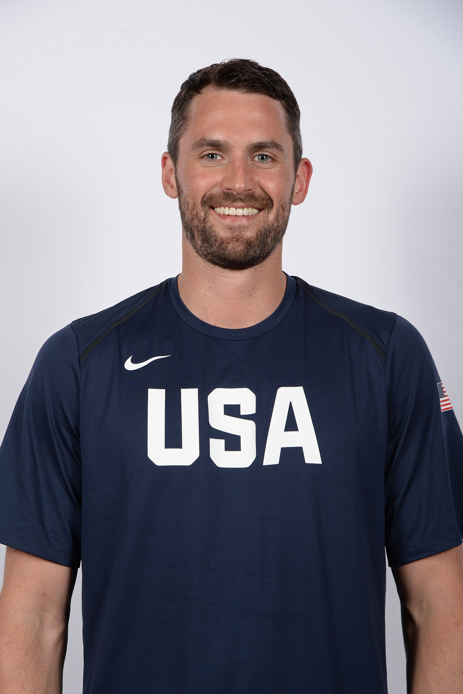 LAS VEGAS, NV - JULY 25: Kevin Love poses for a head shot during USAB Minicamp in Las Vegas, Nevada at the Wynn Las Vegas on July 25, 2018. (Andrew D. Bernstein/NBAE via Getty Images)