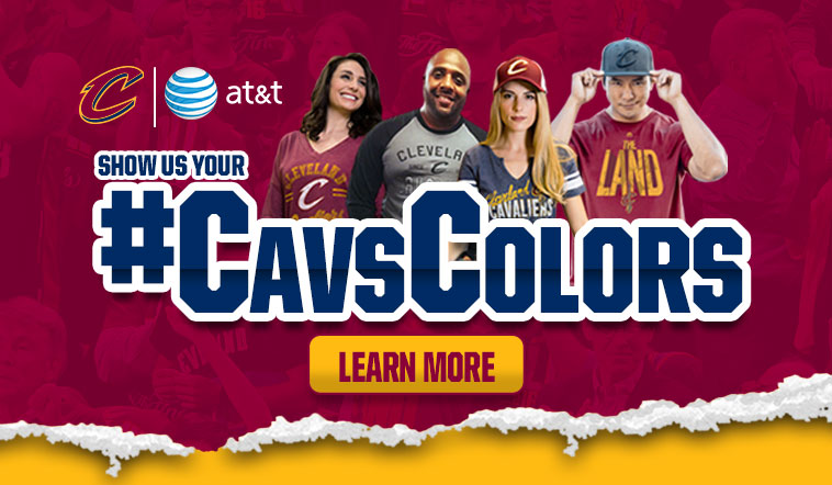 Show Us Your Cavs Colors