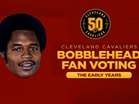 "Fans Select Austin Carr as Bobblehead to Represent ""Early Years"" Era"