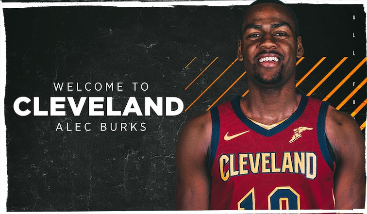 new products d5e6e 4b209 Cavaliers Acquire Alec Burks and Two Future Second Round ...