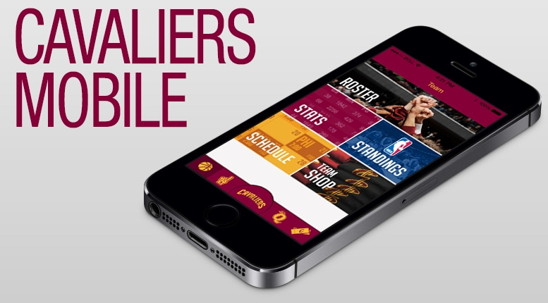 Cavaliers Mobile Options