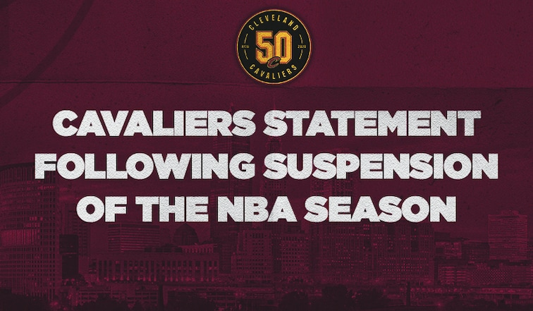 Cavaliers Statement Following Suspension of the NBA Season