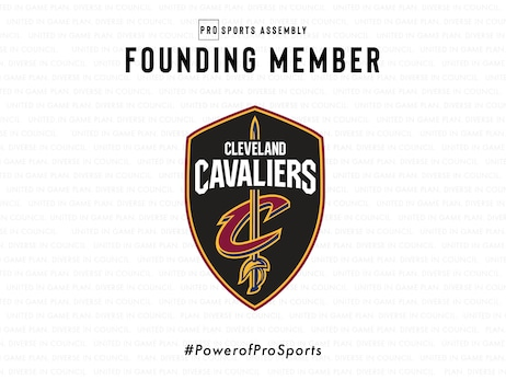 Cleveland Cavaliers Become Founding Members  of Pro Sports Assembly
