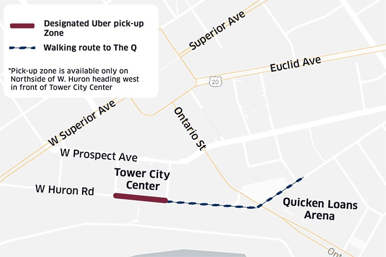 Uber Pick-Up + Drop Off Location