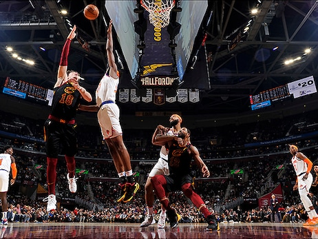 Shorthanded Cavs Fall Flat in Second Half