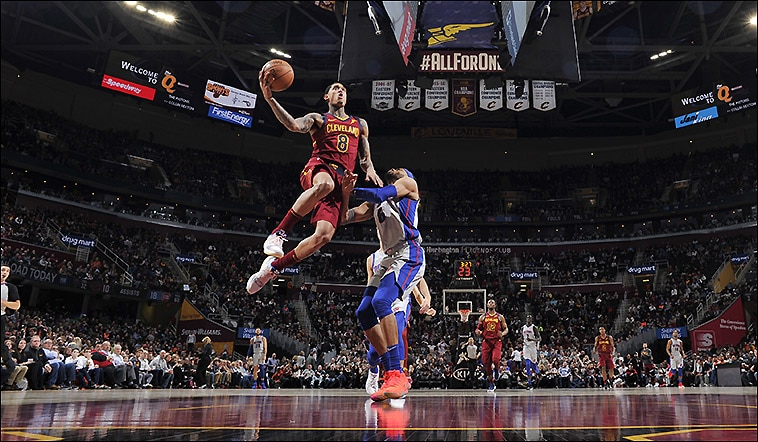Pistons Drop Shorthanded Cavs at The Q 4d1e1e4a6