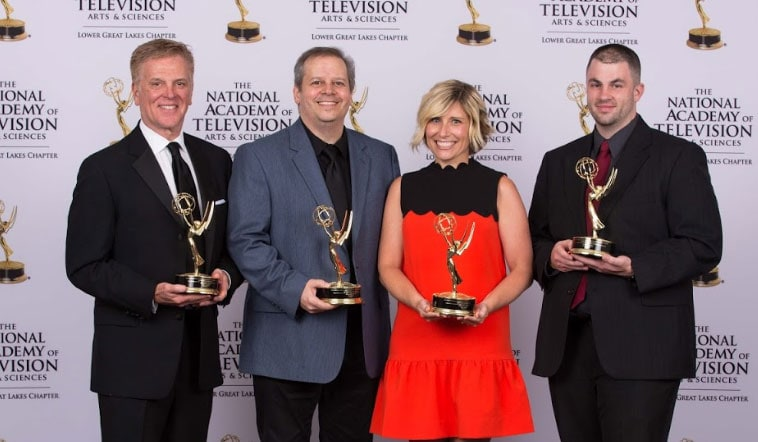 Cavs Bring Home Two Trophies from 48th Annual NATAS EMMY Awards Gala