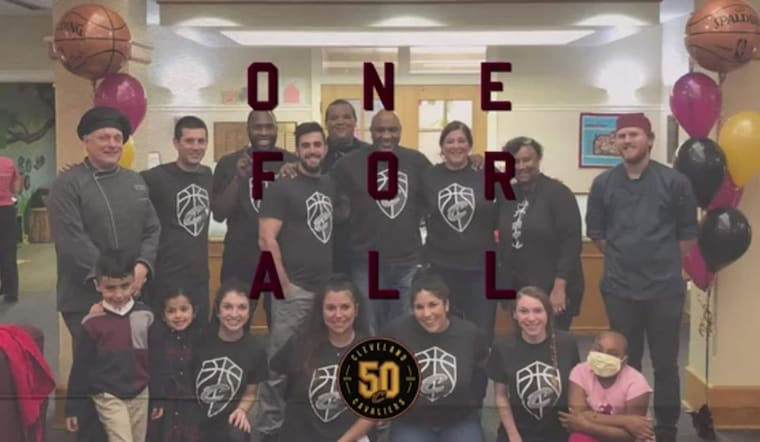 Cavs Staff Gives Back Through Volunteering