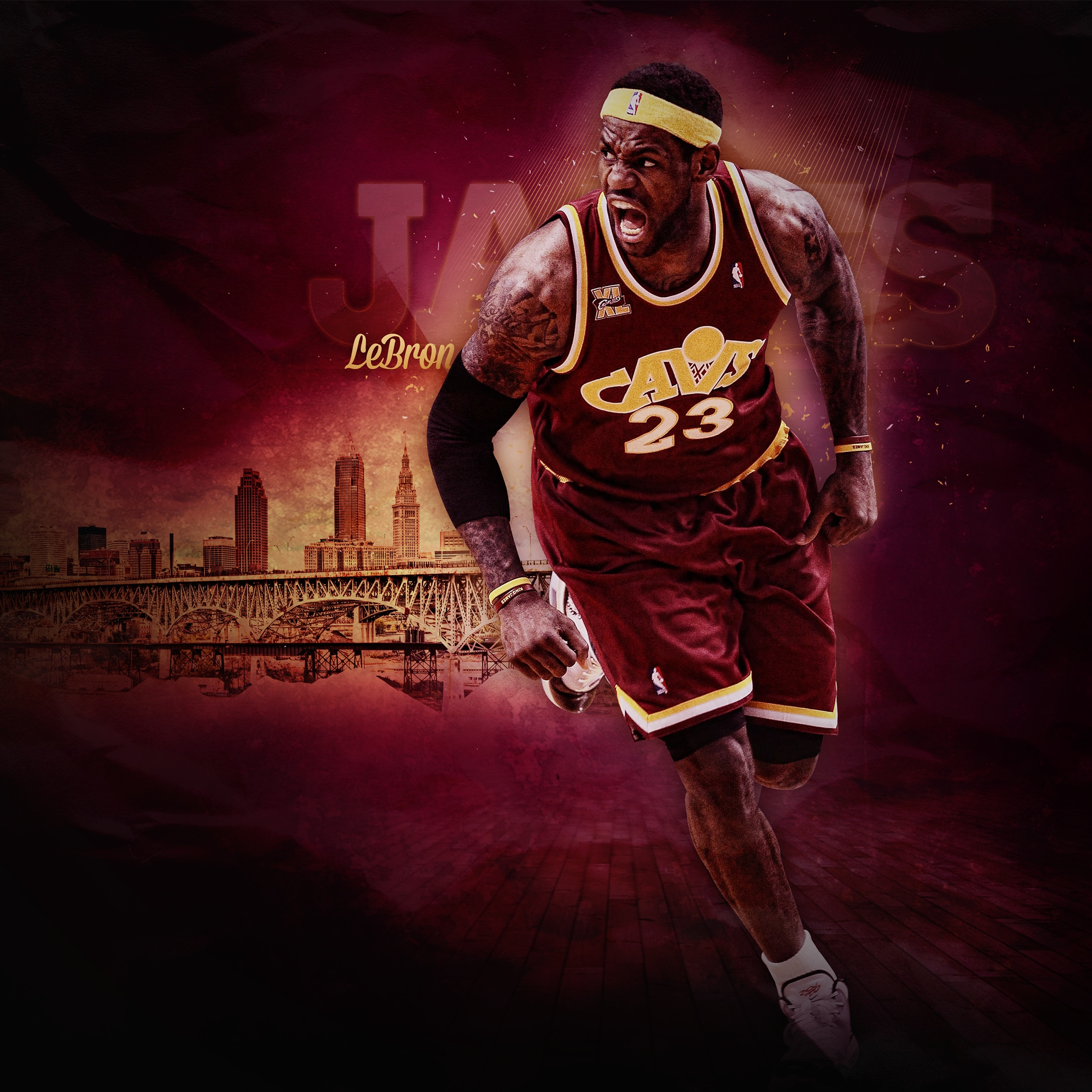 Lebron James Wallpaper Iphone: Cleveland Cavaliers