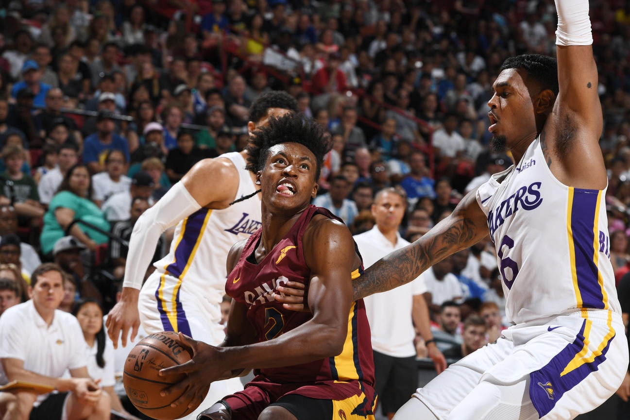 ed0cef3f0344 2018 Summer League Semifinals  Cavs vs. Lakers