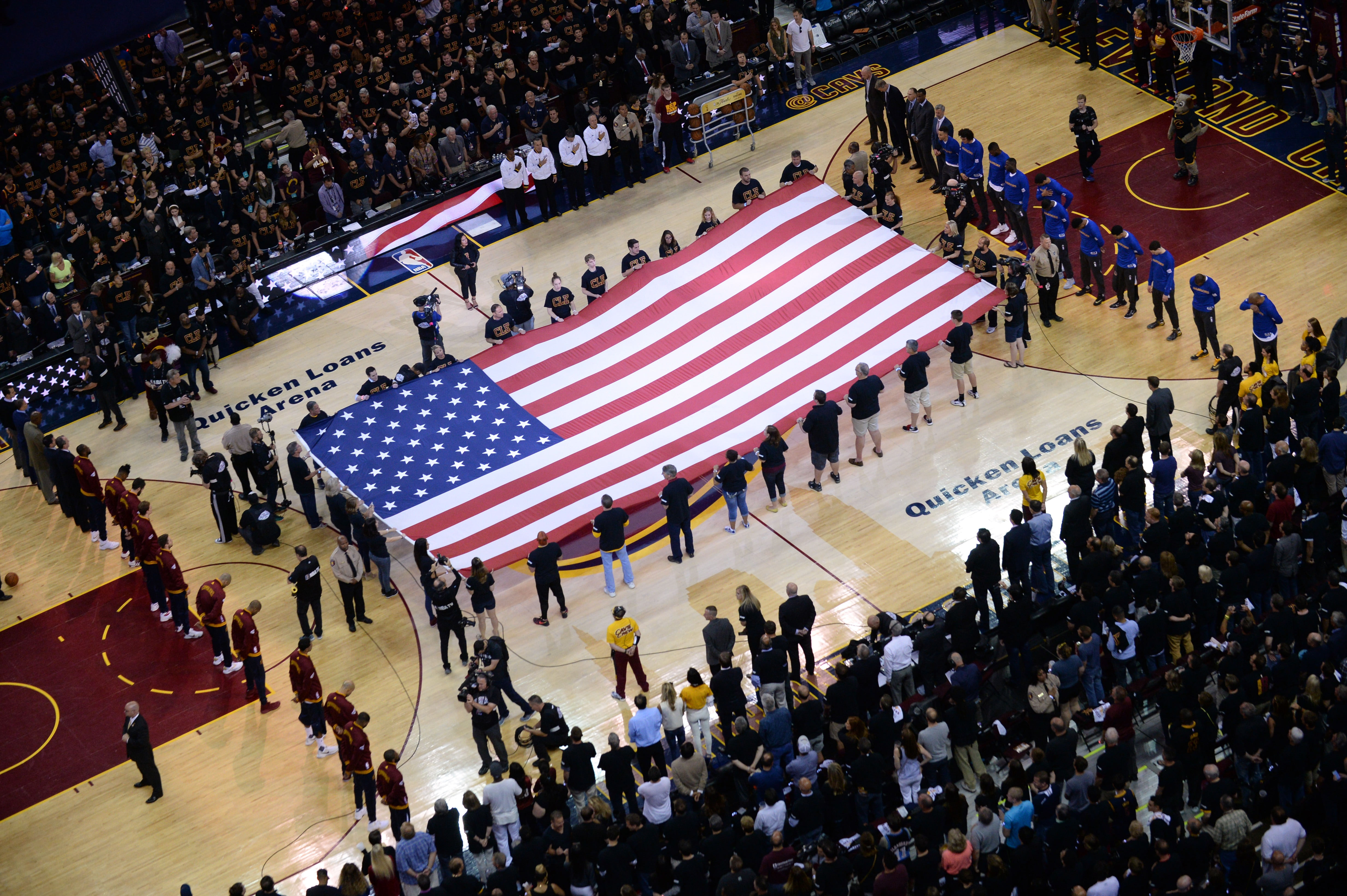 Celebrating America with the Cavs