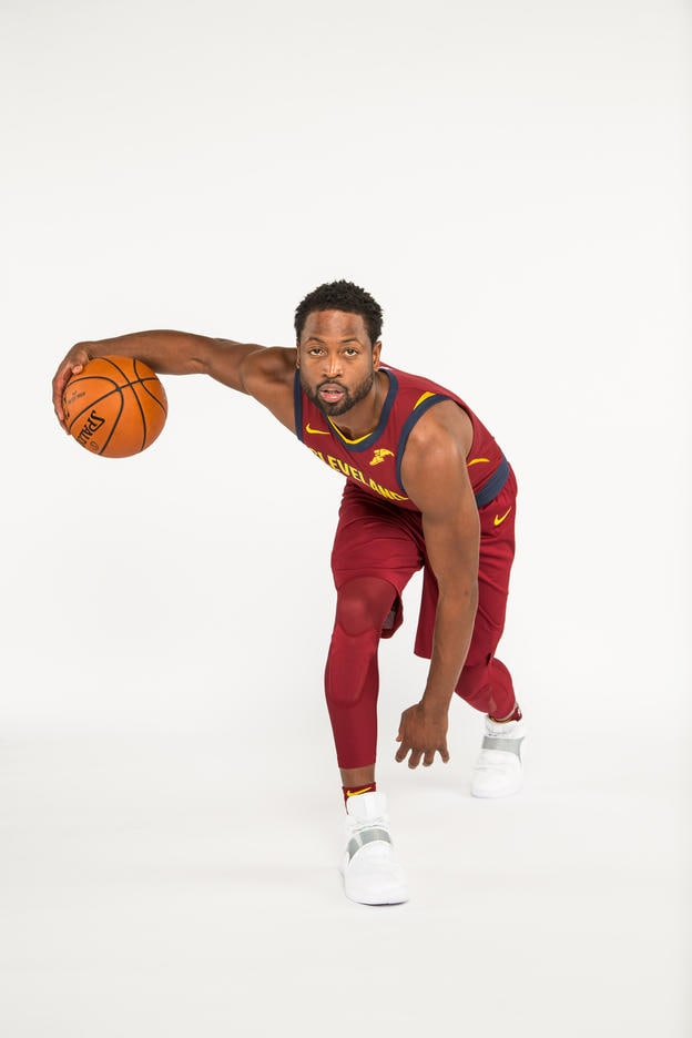 23f5e959fea CLEVELAND, OH - SEPTEMBER 25: Dwayne Wade #9 of the Cleveland Cavaliers  poses