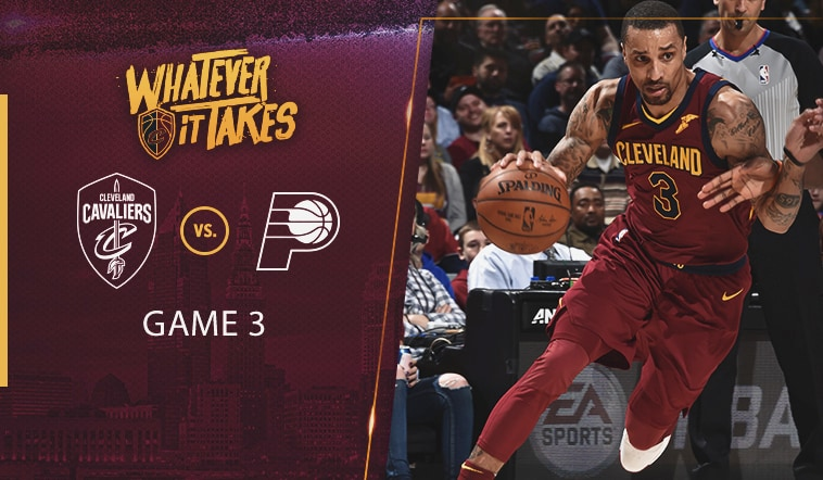 CavsPacers Game Preview - April 20 2018