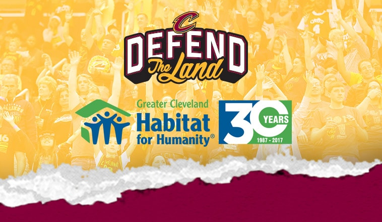 All Admission Proceeds from Cavs Official Road Game Watch Parties to Benefit Greater Cleveland Habitat for Humanity