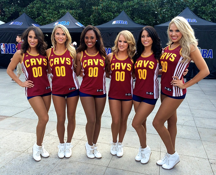 Cavalier Girls In China Part Ii Cleveland Cavaliers