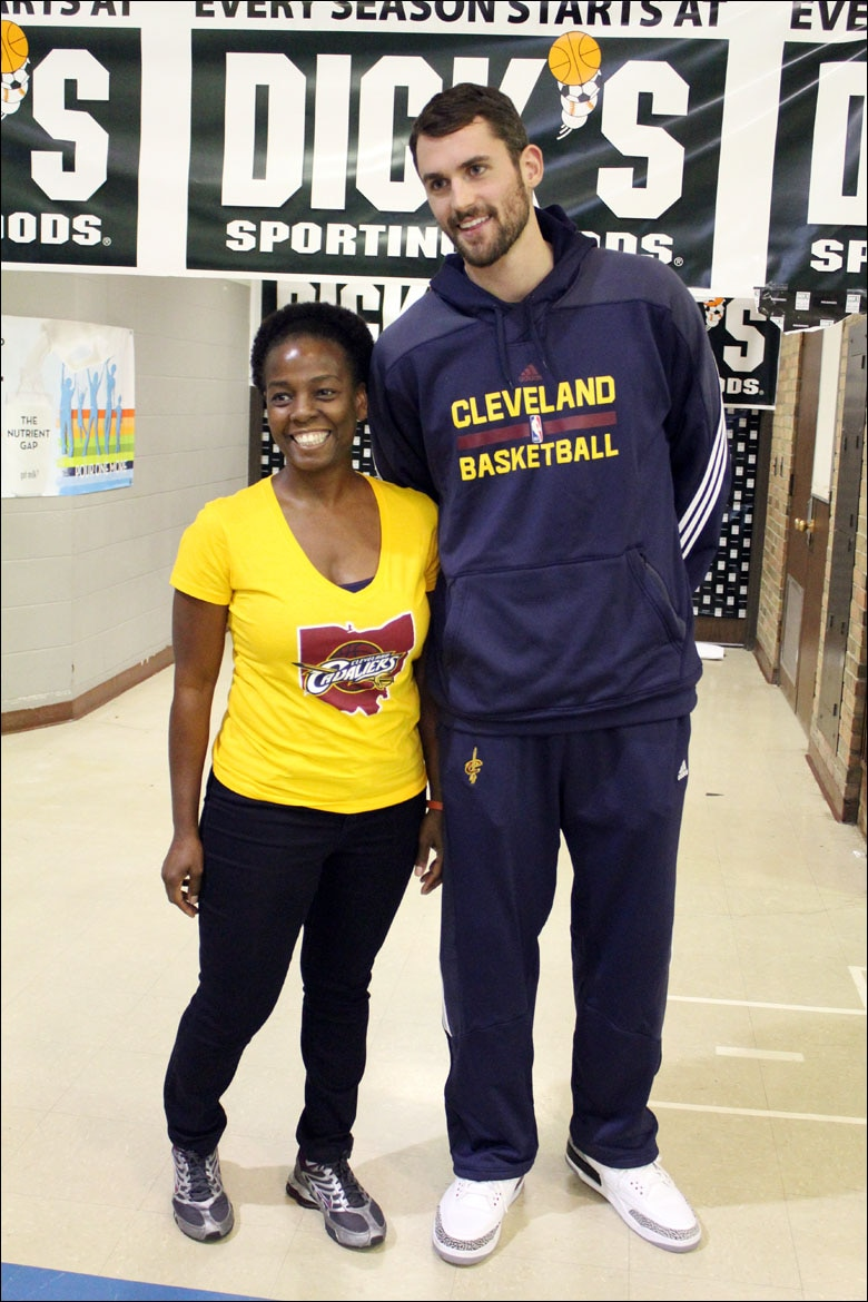 official photos 5197e c2a49 Kevin Love & The DICK's Sporting Goods Foundation Launch ...