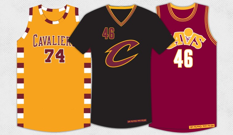 50da416e1 Cavs Unveil Three New Alternate Uniforms for 2015-16 Season ...