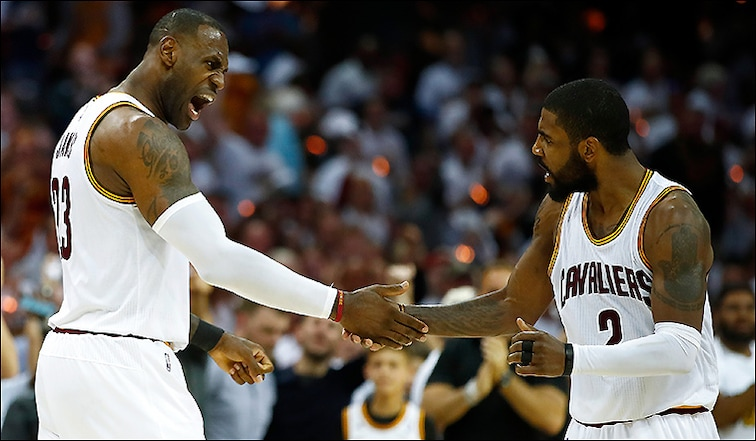 LeBron James + Kyrie Irving