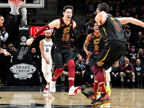 Cavs Take Overtime Thriller in San Antonio