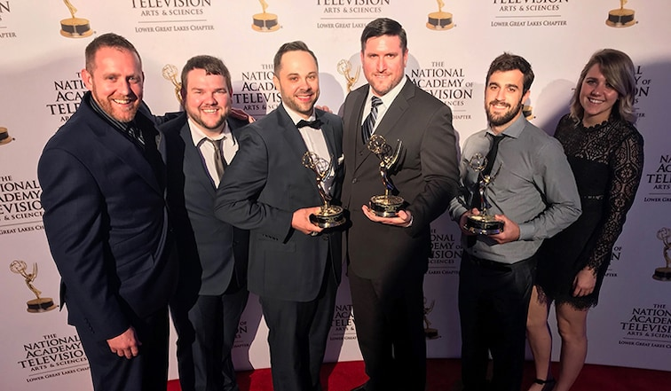 Cavs Bring Home Two Emmy Awards from 49th Annual NATAS Emmy