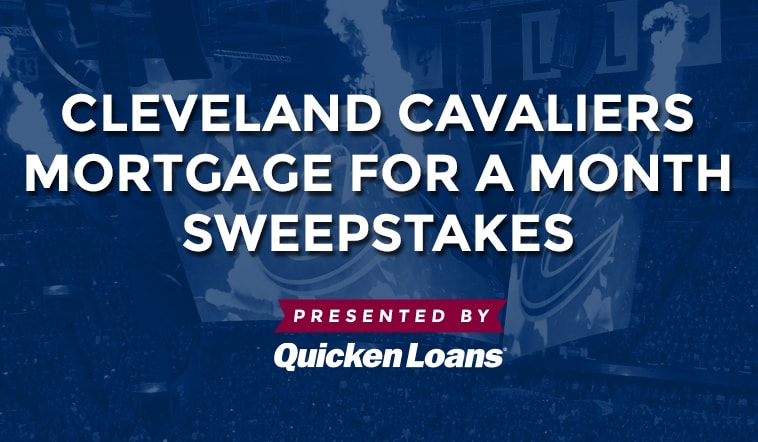 Win Mortgage for a Month courtesy of Quicken Loans