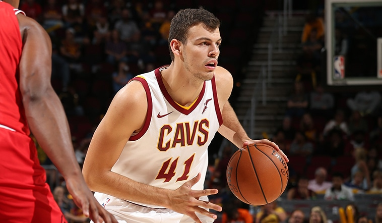 Cavs Recall Ante Zizic from Canton Charge