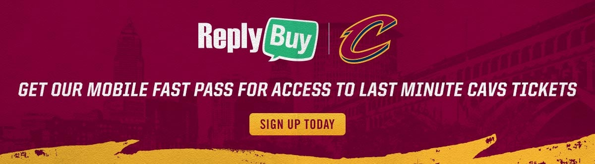 Last Minute Cavs Tickets