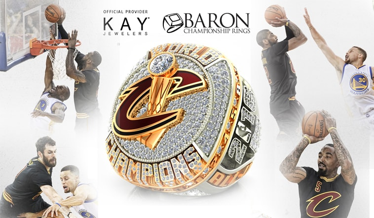2016 NBA Champion Cleveland Cavaliers Receive Rings In