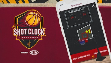 Shot-Clock-Challenge Driven by Kia