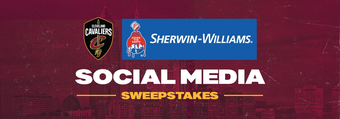 CLEVELAND CAVALIERS & SHERWIN-WILLIAMS SOCIAL MEDIA