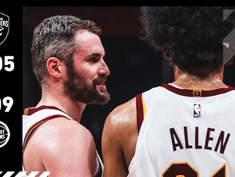 Cavs Can't Cap Rally in Motown
