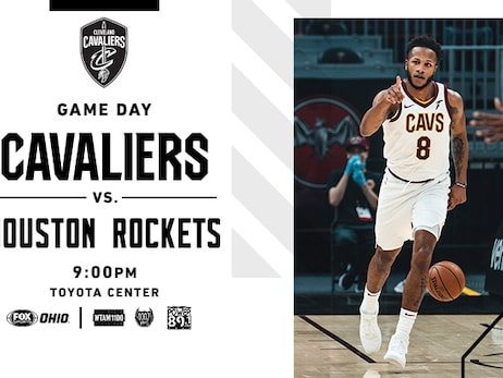 Cavs at Rockets | Rocket Mortgage Game Preview