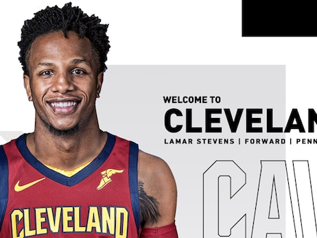 Cavaliers Sign Lamar Stevens to Two-Way Contract
