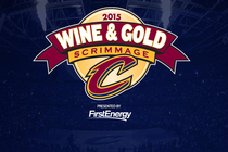 Wine and Gold Scrimmage