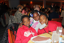 Cavs Serve Up Thanksgiving Dinner - November 18, 2014