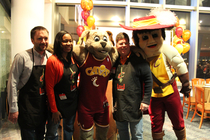 Thanksgiving Dinner with the Cavs - November 25, 2013 - 1