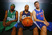 Shannon Brown Rookie Photo Shoot
